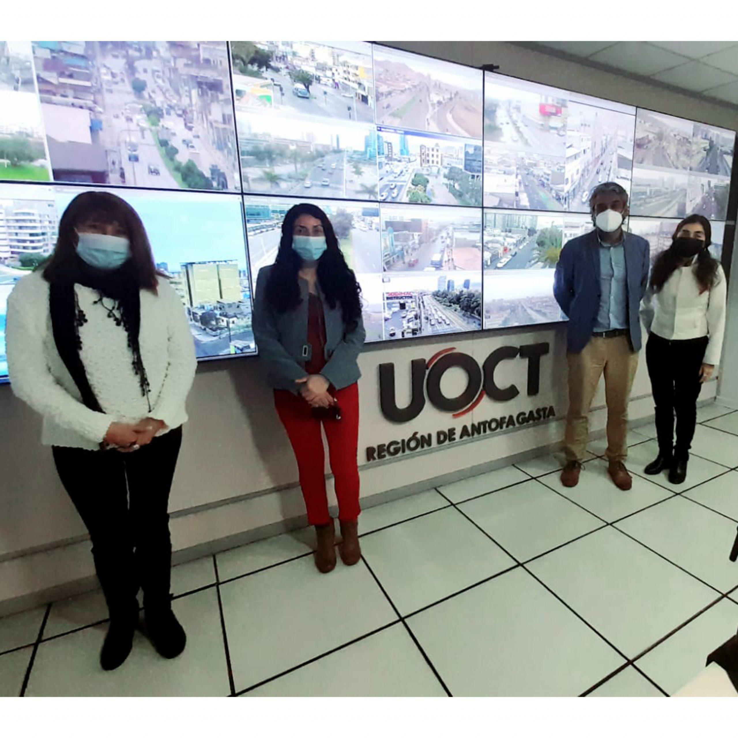 Equipo del Gobierno Regional y UOCT Antofagasta revisan cartera de proyectos de movilidad para la gestión de recursos
